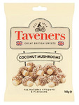 Taverners Coconut Mushrooms 165gr
