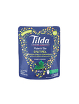 Tilda Split Pea Green Chilli & Coriander Wholegrain Basmati Rice 140g
