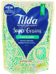 Tilda Super Grains Lime & Herb Pouch 220g
