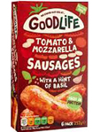 Goodlife Tomato & Mozzarella Sausages 252g