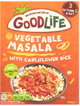 Goodlife Vegetable Masala Cauliflower Rice 400g