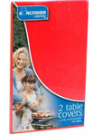 Kignfisher 2 Red Plastic Table Covers