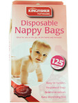 Kingfisher Disposable Nappy Bags X125