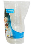 Kingfisher Half Pint Plastic Cups X15