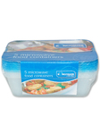 Kingfisher M/wave Food Containers X5