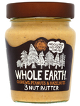 Whole Earth 3 Nut Smooth Peanut Butter 227gr