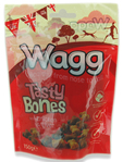 Wagg Tasty Bones With Chicken & Liver 150gr