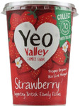 Yeo Valley Whole Milk Strawberry 450g