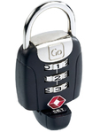 Go Travel Secure Lock Black