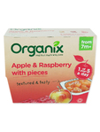 Organix Apple & Raspberry With Pieces X4