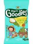 Organix Goodies Lentil Hoops Cheese & Onion 4x15g