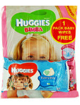 Huggies Girl Grande 11-25kg X42 + Free Wipes