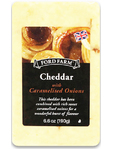 Fordfarm Cheddar With Caramelised Onions 190g
