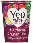 Yeo Valley Whole Milk Raspberry & Passionfruit 450g