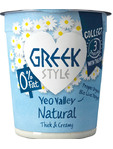 Yeo Valley Greek Style 0% Fat Natural 150g