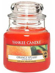 Yankee Jar Orange Splash