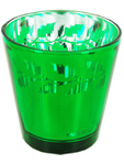 Holly Votive Holder Green