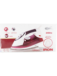 Elpine Steam Iron Burgundy