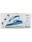 Elpine Steam Iron Light Blue