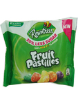 Rowntrees Fruit Pastilles 30 % Less Sugar 38g