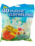 151 Plastic Clothes Pegs X40