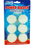 Duzzit Power Bleach Toilet Block X4