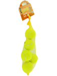 Pet Face Super Tennis Balls Dog Toy X 5