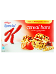 Kelloggs Special K Cereal Bars Red Berry X5