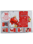 Christmas Cards Assorted X30