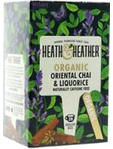 Heath & Heather Organic Oriental Chai & Liquorice Tea X20