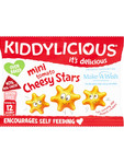 Kiddylicious Mini Cheesy Stars 12g