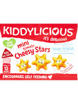 Kiddylicious Mini Tomato Cheesy Stars 12g