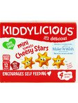 Kiddylicious Mini Tomato Cheesy Stars 4x12g