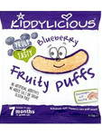 Kiddylicious Blueberry Fruity Puffs 10g