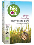 Big Oz Organic G/free Brown Rice Puffs Cereal 250gr (gf)
