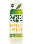 Cawston Press Apple & Ginger Juice 1lt