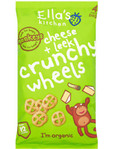 Ella's Kitchen Cheese & Leek Crunchy Wheels 4x15g