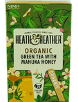 Heath & Heather Organic Green Tea And Manuka Honey