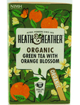 Heath & Heather Organic Green Tea & Orange Blossom X20