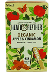 Heath & Heather Organic Apple & Cinnamon X20