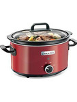 Crock-pot Slow Cooker 3.5ltr Red