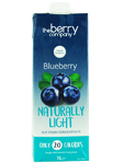 The Berry Company Blueberry Naturally Light 1ltr