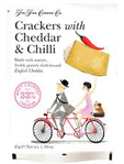 The Fine Cheese Cheddar & Chilli Crackers 45g
