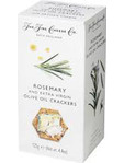 The Fine Cheese Co Rosemary & Extra Virgin Olive Oil Crackers 125g