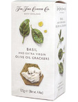 The Fine Cheese Co Basil And Extra Vergin Oil Crackers 125g