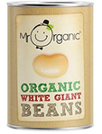 Mr. Organic Giant White Beans 400g