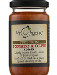 Mr Organic Tomato & Olive Stir-in Sauce 190g