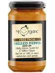 Mr Organic Free From Grilled Peppers 190g