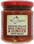 Mr Organic Red Cgilli & Ginger Salsa 200g