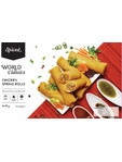 Spiced World Classics Vegetable Spring Rolls X6 50g